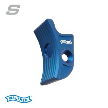 Jazýček spouště Walther Expert trigger curved S, modrý, Walther