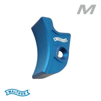 Jazýček spouště Walther Expert trigger curved L, modrý, Walther