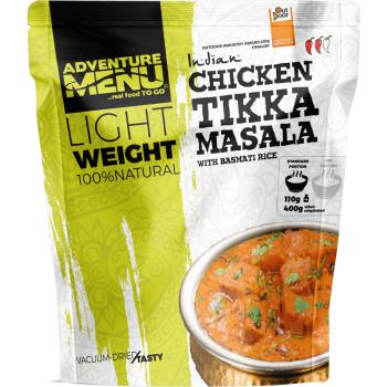 Vakuově sušené jídlo - Kuře Tikka Masala s rýží basmati – Lightweight, Adventure Menu