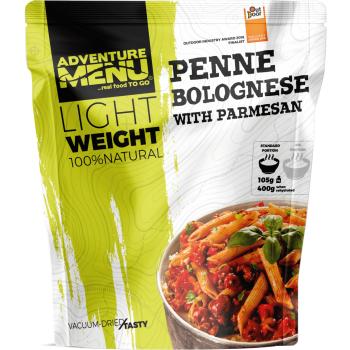 Vakuově sušené jídlo - Penne s Boloňskou omáčkou a parmesánem – Lightweight, Adventure Menu
