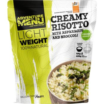Vakuově sušené jídlo - Krémové rizoto s chřestem a brokolicí (VEGAN) - Lightweight,  Adventure Menu