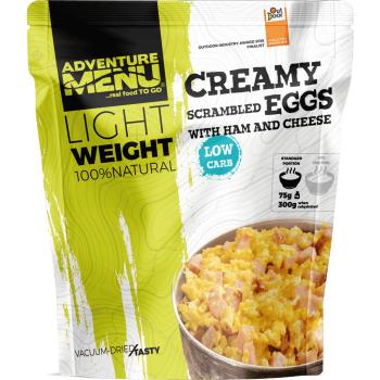 Vakuově sušené jídlo - Krémová míchaná vajíčka se šunkou a sýrem – Lightweight, Adventure Menu