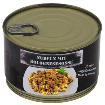 Vojenská konzerva - Pasta Bolognese, 400 g, MFH
