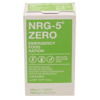 Nouzová energetická dávka - Emergency ration NRG-5 ZERO, 500 g, 9 tyčinek, MFH
