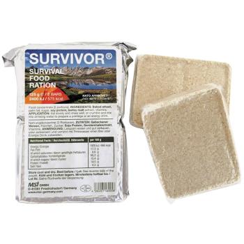 Nouzová energetická dávka - Emergency ration SURVIVOR®, 125 g, 2 tyčinky, MFH