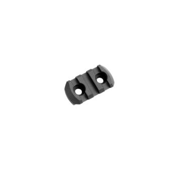 Picatinny Rail M-LOK, 3 sloty, hliníkový, černý, Magpul