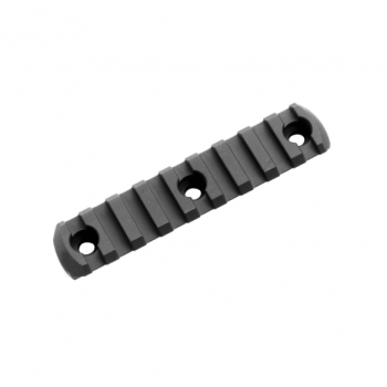 Picatinny Rail M-LOK, 9 slotů, hliníkový, černý, Magpul