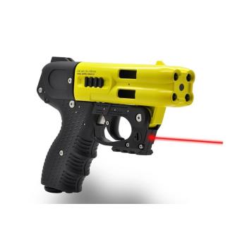 Pepřová pistole JPX4 Jet Defender Laser, žlutá, Piexon