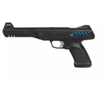 Vzduchová pistole Gamo P-900 IGT 4,5 mm, Gunset diabolky, lapač, terče
