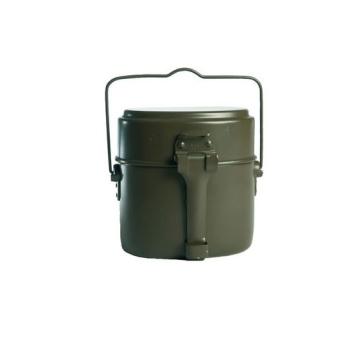 Vojenský ešus BW, 3 díly, olivový, Mil-Tec
