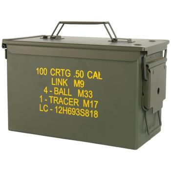 Bedna na munici U.S. Ammo box Steel M2A1 CAL .50, Mil-Tec