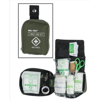 Lékárnička First Aid Pack Midi, olivová, Mil-Tec