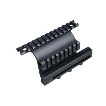 Postranní montáž s dvěma picatinny raily GEN 3 AK, černá, UTG