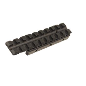 Nízkoprofilový picatinny adaptér na rybinu, černý, UTG