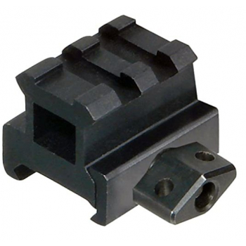 "Nízkoprofilový zvyšující 0,83"" picatinny rail, 2 sloty, compact, černý, UTG"