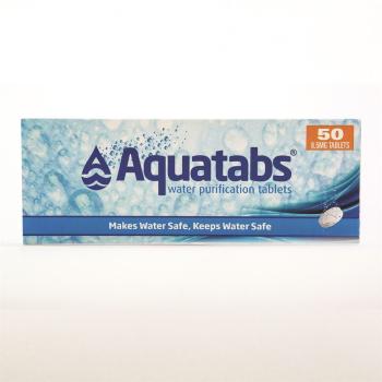 Tablety na čištění vody Aquatabs®, 50 tablet, BCB