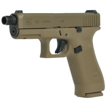 Pistole Glock 19 X se závitem M13,5x1, 9 mm Luger, coyote