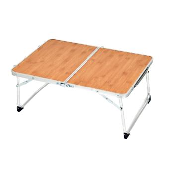 Kempingový stůl Low, hnědý, Zulu