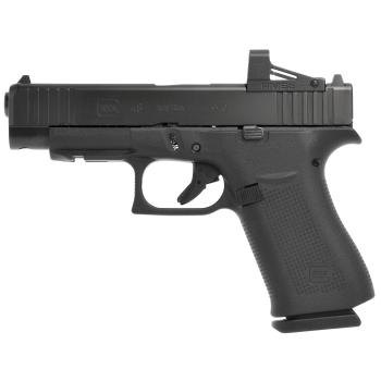 Pistole Glock 48 MOS s kolimátorem RMSc Shield Optic, 9 mm Luger, černá