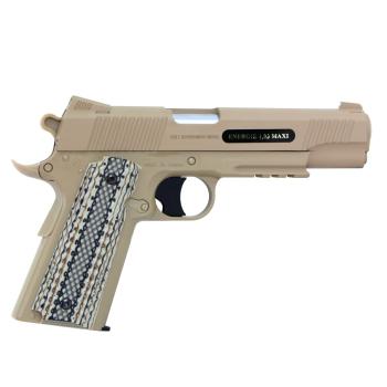 Airsoftová pistole Colt M45 A1 TAN, plynová CO2, celokov, Cyber Gun