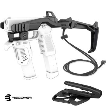 Konverze Recover pro pistole Glock, souprava s raily, popruhem a pouzdrem G7, černá, Recover Tactical