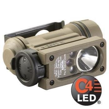 Taktická přilbová multifunkční LED svítilna Streamlight SIDEWINDER COMPACT II, model Aviation