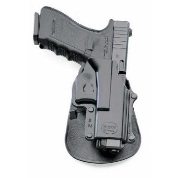 Pouzdro na pistoli Glock 17/19/22/23/31/32/34/35, rotační pádlo, Fobus