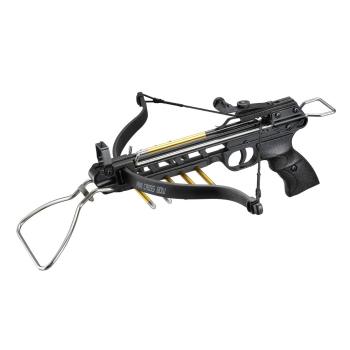 Pistolová kuše 80/A3 80lb., kovové tělo, Mankung