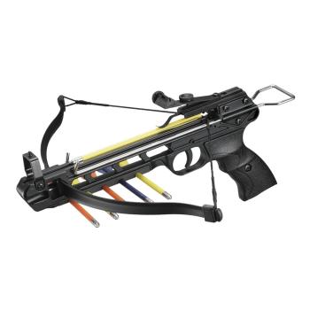 Pistolová kuše 50/A2 50lb., kovové tělo, set 5 šipek, Mankung
