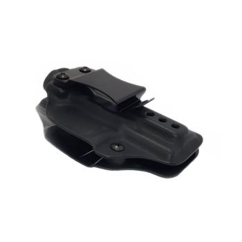 Kydex pouzdro RH Holsters Walther PPQ SC, vnitřní, pravé, 1/2 sweatguard, černé, flushclip 40mm