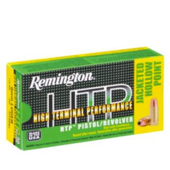 Náboje 9 mm Luger JHP, 7,5 g, 50 ks, Remington