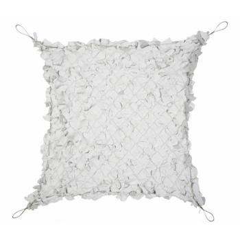 Síť stínící plastová s ocelovým lanem 3 x 3m, bílá/šedá, Mil-Tec