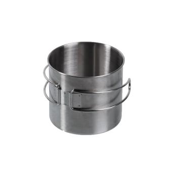 Nerezový hrnek Stainless Steel o obsah 600 ml, Mil-Tec