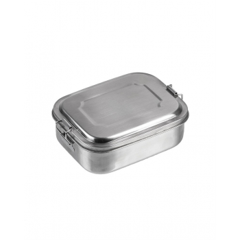 Nerezový jídelní box, 16 x 13 x 6,2 cm, Mil-Tec