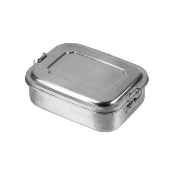 Nerezový jídelní box, 18 x 14 x 6,5 cm, Mil-Tec