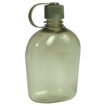 Polní láhev US Gen. II Transparent, olivová, Mil-Tec