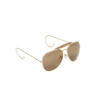 Sluneční brýle AF hnědé s pouzdrem, Mil-Tec