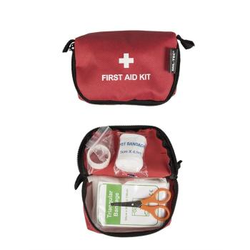 Malá lékarnička první pomoci, červená, Mil-Tec