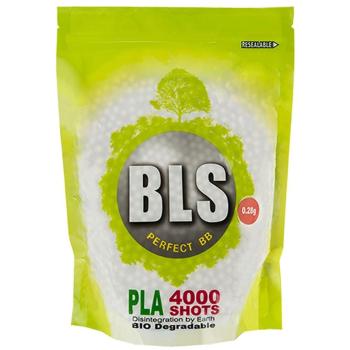 Bio Airsoft kuličky 6mm BLS 0,25g, 4000 ks, 1kg