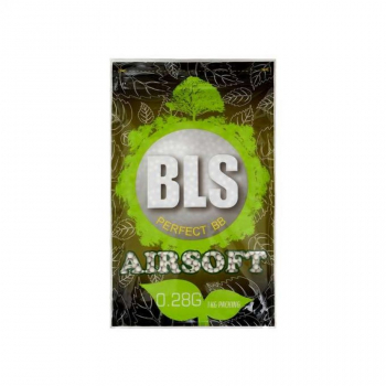 Airsoft Bio kuličky 6mm BLS 0,28g, 3570 ks, 1kg