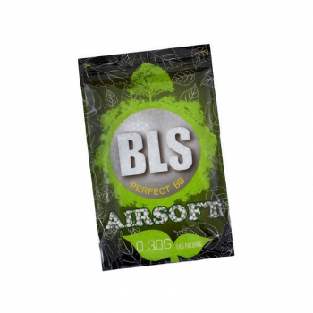 Airsoft kuličky 6mm BLS Bio 0,30g, 3300 ks, 1kg