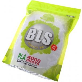 Airsoft kuličky 6mm BLS Bio 0,32g, 3125 ks, 1kg