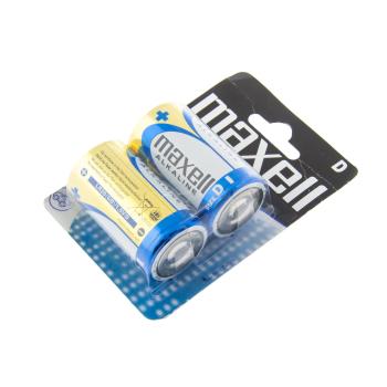 Nenabíjecí alkalické baterie LR20 (velikost D), 2 ks, Blistr, Maxell