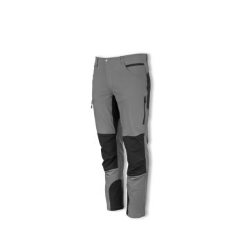 Outdoorové strečové kalhoty FOBOS šedá/černá, Promacher