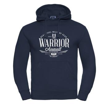 Mikina Warrior Vintage, Navy Blue, Warrior Assault System