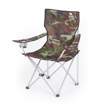 Kempingová židle Zulu Camp, camo