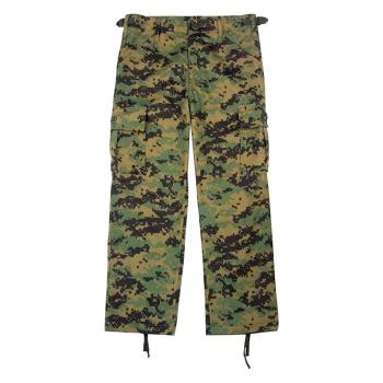 Dětské maskáčové kalhoty BDU, Woodland Digital, Rothco