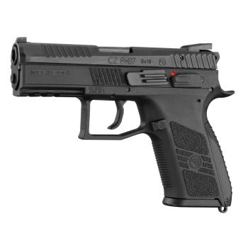 Pistole CZ P-07 9x19, vypouštění kohoutu