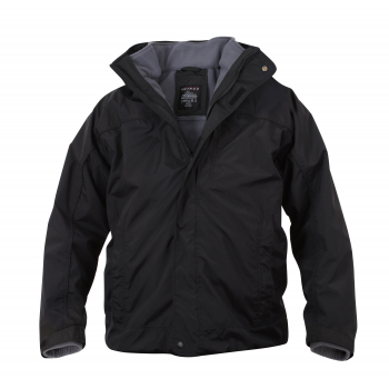 Bunda All Weather 3in1, černá, Rothco