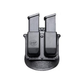 Pouzdro na 2 dvouřadé zásobníky Glock ráže, rotační pádlo, Fobus